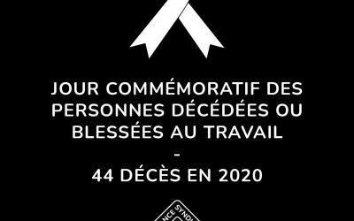 En 2020, 44 décès liés au travail dans la construction : Jean Boulet doit bonifier le projet de loi n°59 pour changer ce bilan